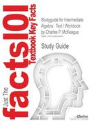 9781428838833 - Cram101 Textbook Reviews: Studyguide for Intermediate Algebra - كتاب