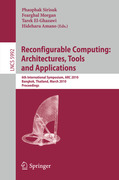 Reconfigurable Computing: Architectures, Tools ...