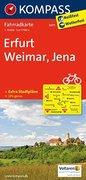 Erfurt - Weimar - Jena 1 : 70 000