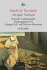 Nietzsche,  Friedrich: Also sprach Zarathustra I - IV