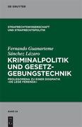 Sánchez-Lázaro, Fernando G.: Kriminalpolitik un...