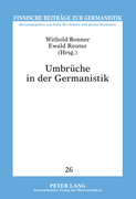 Umbrüche in der Germanistik