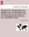 Pillwein, Benedikt: Geschichte, Geographie und Statistik des Erzherzogthums Oesterreich ob der Enns und des Herzogthums