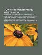Towns in North Rhine-Westphalia