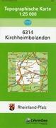 Kirchheimbolanden 1 : 25 000