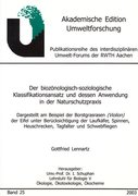Lennartz, Gottfried: Der biozönologisch-soziolo...