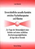 Dietrich, Lutz: Einverständliche sexuelle Konta...