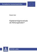 Hierl, Robert: Kapitalvermögensverluste als Wer...
