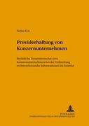 Eck, Stefan: Providerhaftung von Konzernunterne...