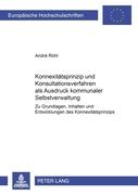 Röhl, André: Konnexitätsprinzip und Konsultatio...
