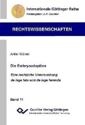 Hübner, Anke: Die Embryoadoption
