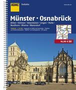 ADAC Stadtatlas Münster Osnabrück mit Ahlen, Dü...