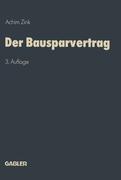 Zink, Achim: Der Bausparvertrag
