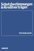 Stahlschmidt, Dirk: Schutzbestimmungen in Kredi...