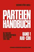 Stöss, Richard: Parteien-Handbuch