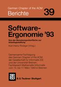 Software-Ergonomie ´93