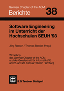 Bassler, Thomas;Raasch, Jörg: Software Engineer...