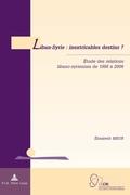 Meur, Élisabeth: Liban-Syrie : inextricables de...