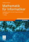 Schubert, Matthias: Mathematik für Informatiker