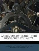 Akademie Der Wisenschaften, Vienna. Historische...