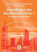 eBook: Grundlagen der Baubetriebslehre 1