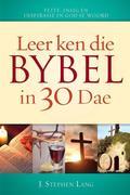 J. Stephen Lang: Leer ken die Bybel in 30 dae