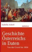 eBook: Geschichte Österreichs in Daten