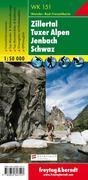 Zillertal, Tuxer Alpen, Jenbach, Schwaz 1 : 50 ...
