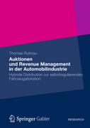 Ruhnau, Thomas: Auktionen und Revenue Managemen...
