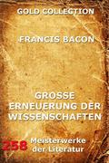 eBook: Grosse Erneuerung der Wissenschaften (Novum Organon)