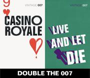 eBook:  Double the 007: Casino Royale and Live and Let Die (James Bond 1&2)