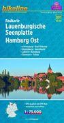 Bikeline Radkarte Lauenburgische Seenplatte. Ha...