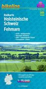 Bikeline Radkarte Holsteinische Schweiz, Fehman...