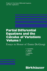 COLOMBINI;Marino;Modica;SPAGNOLA: Partial Differential Equations and the Calculus of Variations