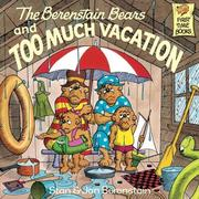 eBook: The Berenstain Bears and Too Much Vacation