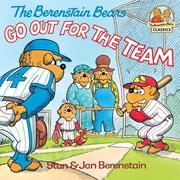 eBook: The Berenstain Bears Go Out for the Team