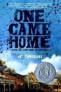 eBook: One Came Home
