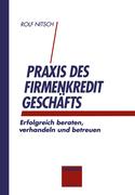 Nitsch, Rolf: Praxis des Firmenkreditgeschäftes