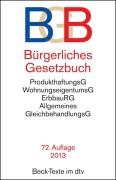 Bürgerliches Gesetzbuch (BGB).