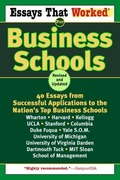 eBook: Essays That Worked for Business Schools (Revised)