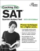 eBook: Cracking the SAT Spanish Subject Test, 2013-2014 Edition