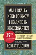 eBook: All I Really Need to Know I Learned in Kindergarten