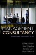 eBook: Management Consultancy: Boundaries and Knowledge in Action