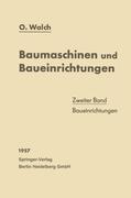 Walch, O.: Baumaschinen und Baueinrichtungen