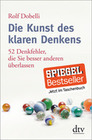 Dobelli,  Rolf: Die Kunst des klaren Denkens