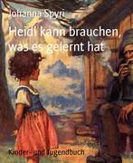 eBook: Heidi kann brauchen, was es gelernt hat
