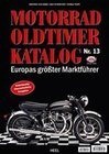 Vogt-Möbs, Gerfried;Schwietzer,  Andy;Trapp,  Thomas: Motorrad Oldtimer Katalog Nr. 13