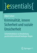 eBook: Kriminalität, innere Sicherheit und soziale Unsicherheit
