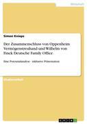 Knieps, Simon: Der Zusammenschluss von Oppenhei...