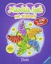 Mandala-Spaß mit Stickern: Tiere